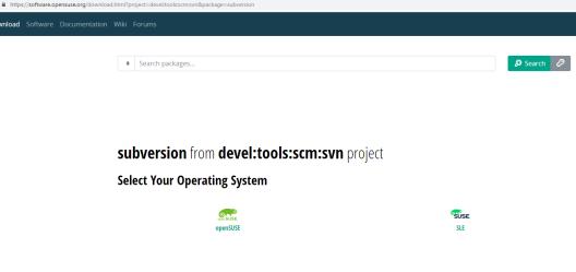SVN Setup in SUSE Linux SLES 12 SP2 | GreatSingapore